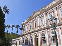 Petropolis in Brazil. Brazil, State of Rio de Janeiro, Petropolis, Exterior view of the The Museu Imperial de Petropolis Royalty Free Stock Image