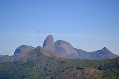 Petropolis Montains,里约热内卢 免版税图库摄影