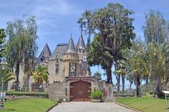 PETROPOLIS, RIO DE JANEIRO/BRAZIL. FEB 22 2019: Itaipava Castle. In Petropolis, Rio de Janeiro royalty free stock photos