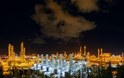 petroquímico industrial imagens de stock