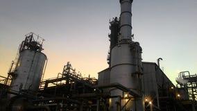 petroquímico industrial fotografia de stock