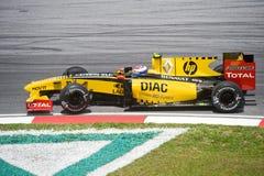 petrov Формула-1 участвуя в гонке команда renault vitaly Стоковые Фото