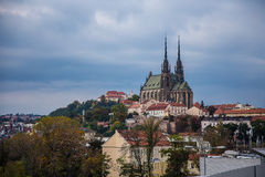 Petrov church, Brno Royalty Free Stock Photography