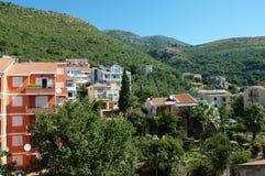 Petrovac city Montenegro Royalty Free Stock Image