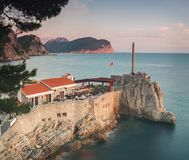 Petrovac fortress Montenegro Royalty Free Stock Photo
