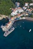 Petrovac Montenegro royaltyfria bilder