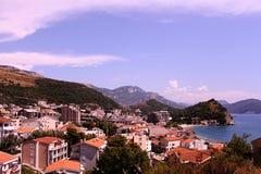 petrovac montenegro стоковое изображение rf