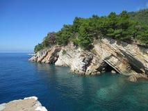 petrovac montenegro Стоковое Изображение