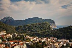 Petrovac Montenegro hills Royalty Free Stock Photos