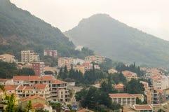 Petrovac in Montenegro stock photos