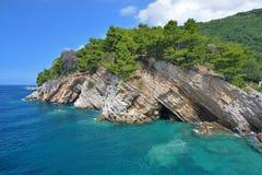 Petrovac na Moru Royaltyfria Bilder
