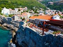 Petrovac na Moru, Montenegro Obraz Royalty Free
