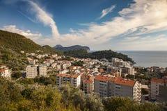 Petrovac town Montenegro Stock Photo