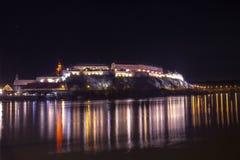 Petrovaradin堡垒 免版税库存照片