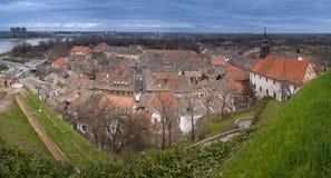Petrovaradin-Ansicht Stockbild