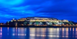 Petrovaradin fästning i Novi Sad Royaltyfria Foton