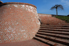 Petrovaradin fästning, Novi Sad, Serbien Royaltyfria Bilder