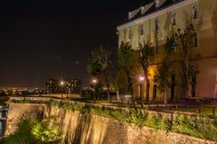 Petrovaradin fästning - Novi Sad/Serbien royaltyfria bilder