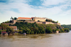 Petrovaradin Festung Stockfotografie