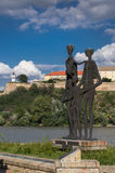 Petrovaradin Festung Stockfotos