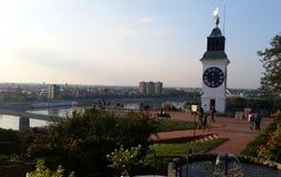 Petrovaradin-Festung nahe Novi Sad, Serbien lizenzfreies stockfoto