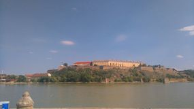 Petrovaradin forteca Zdjęcia Royalty Free