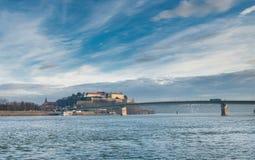 Petrovaradin fortress Royalty Free Stock Image