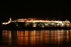 Petrovaradin fortress Stock Images