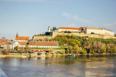 Petrovaradin Fortress Stock Photo