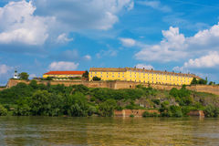 Petrovaradin Fortress in Novi Sad, Serbia Royalty Free Stock Photos