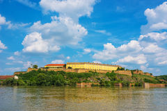 Petrovaradin Fortress in Novi Sad, Serbia Royalty Free Stock Image
