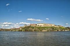 Petrovaradin fortress in Novi Sad, Serbia. Royalty Free Stock Photos