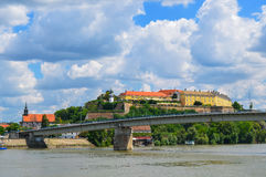 Petrovaradin fortress Royalty Free Stock Images