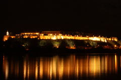 The Petrovaradin Fortress. Petrovaradin fortress, which is located in Novi Sad Royalty Free Stock Photo