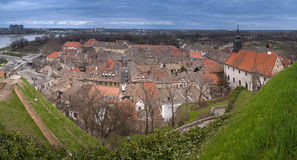 Petrovaradin view. A view on the Petrovaradin. Serbia, Novi Sad Stock Image
