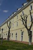 Petrovaradinvesting in Novi Sad, Servië, openluchtmening Royalty-vrije Stock Afbeelding