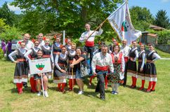 Petrovden Bulgarian Festival of the chicken royalty free stock photography