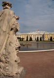 petroverts peterhof дворца Стоковые Изображения