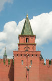 Petrovskaya (Ugreshskaya) Toren van Moskou het Kremlin Stock Afbeelding