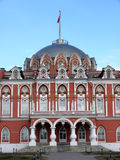 Petrovski travel palace in Moscow, Russia Stock Photography