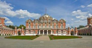 petrovskiy moscow slott Royaltyfri Bild