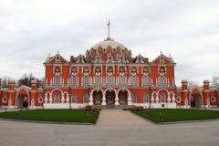 petrovsky莫斯科的宫殿 库存图片