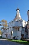 Petrovsky church on Sadovaya Street in the city of Pereslavl-Zalessky. Russia. Petrovsky church in the summer afternoon on Sadovaya Street in the city of Stock Photography