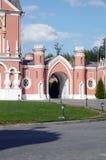 Petrovsky pałac bramy góruje Lipa Obraz Royalty Free