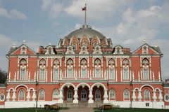 Petrovsky palace, Moscow Stock Photo