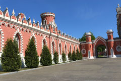 Petrovsky Palace in Moscow. Tower of the Petrovsky Palace in Moscow, Russia Stock Photography