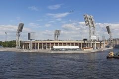 Petrovsky Sports Complex in Saint-Petersburg Stock Photo