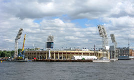 Petrovsky Sports Complex and Stadium, St. Petersburg, Russia Stock Photos