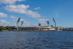 Petrovsky Stadium Royalty Free Stock Photo