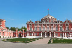 Petrovsky travelling palace Stock Photo